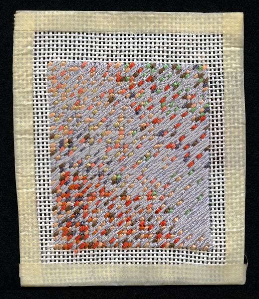 GRAND BUDAPEST - 4x4 - cotton silk floss