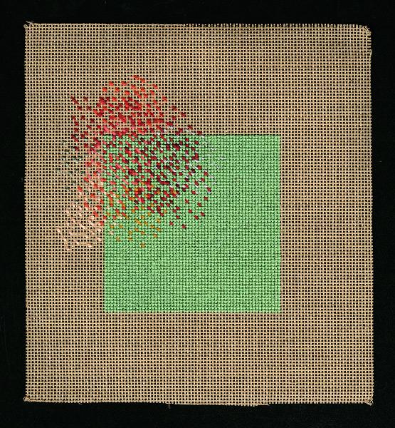 Murmuration - 5x5 - cotton silk floss