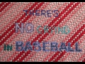 Baseball Policy - 5x7 - cotton floss, canvas