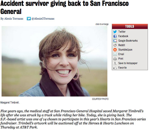 Alexis Terrazas Accident Survivor SF Examiner 2012