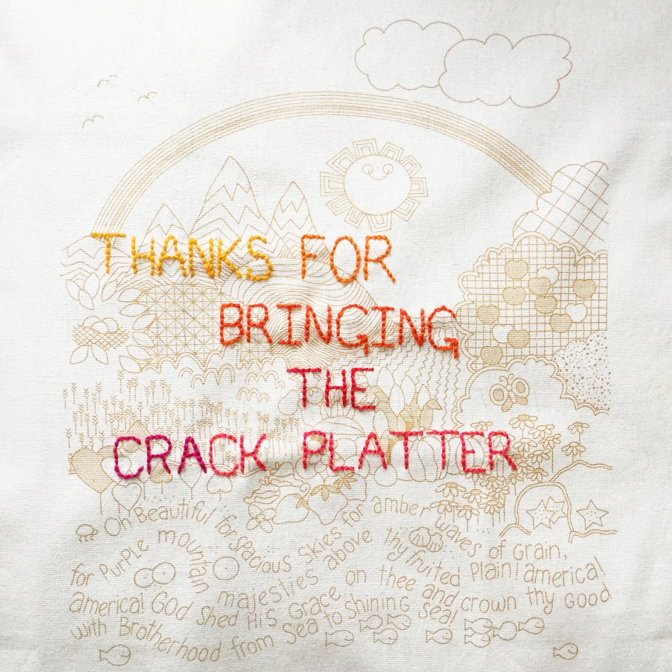 Crack Platter